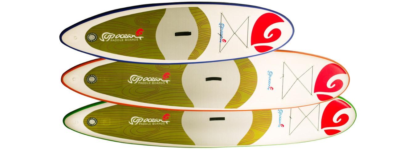 Paddleboardy Bora-Bora, Maupiti, Rapa-Nui